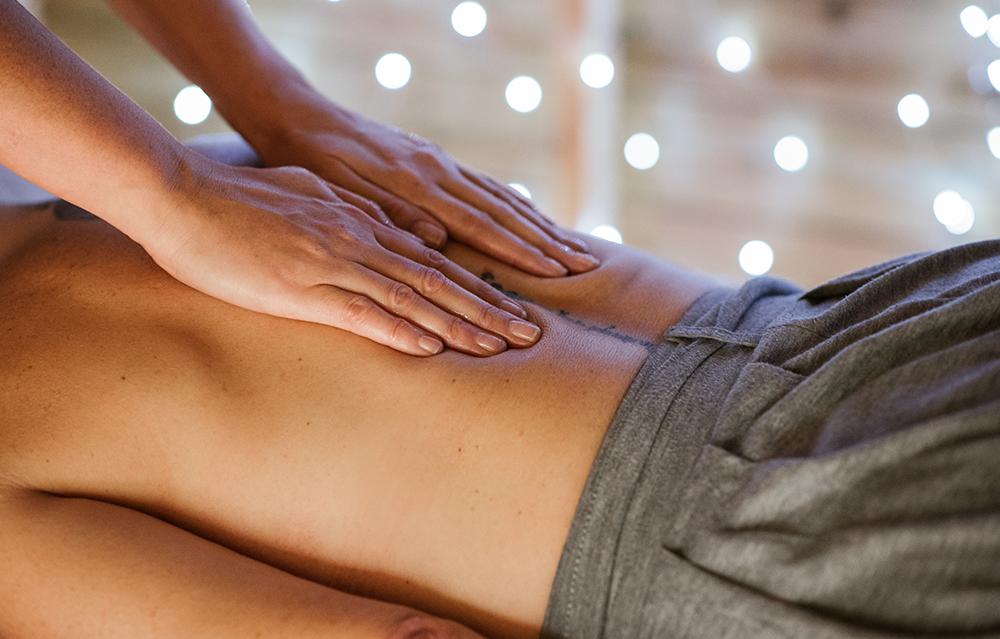 Les soins corps et massages Après la pluie